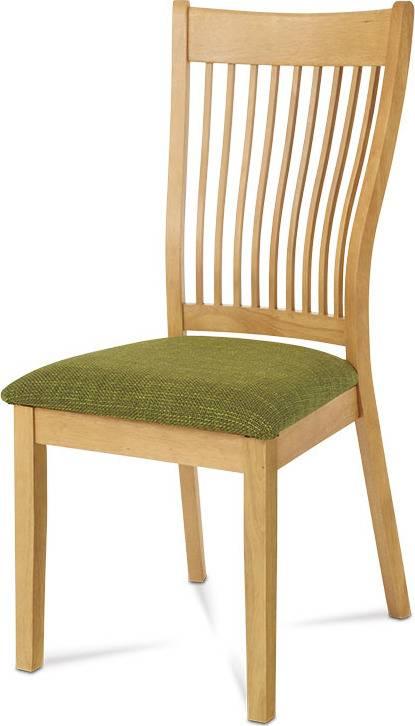Jídelní židle BEZ SEDÁKU, barva bělený dub C-190 OAK1 Art