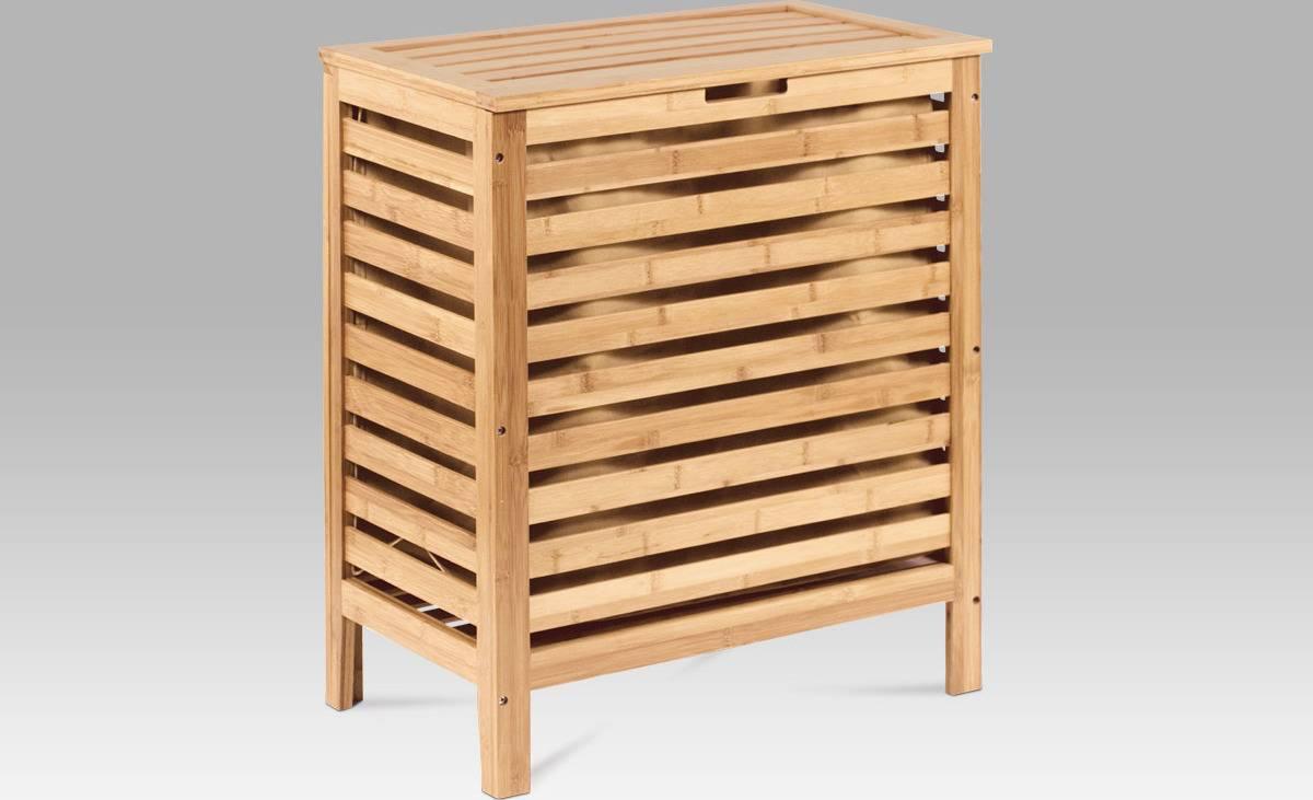 Koš na prádlo, lakovaný bambus DR-014 Art