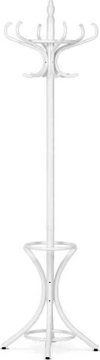 Věšák dřevěný - barva bílá, v. 186 cm F-2058 WT Art