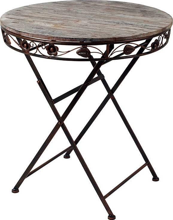 Kovový stůl AH12131 Art