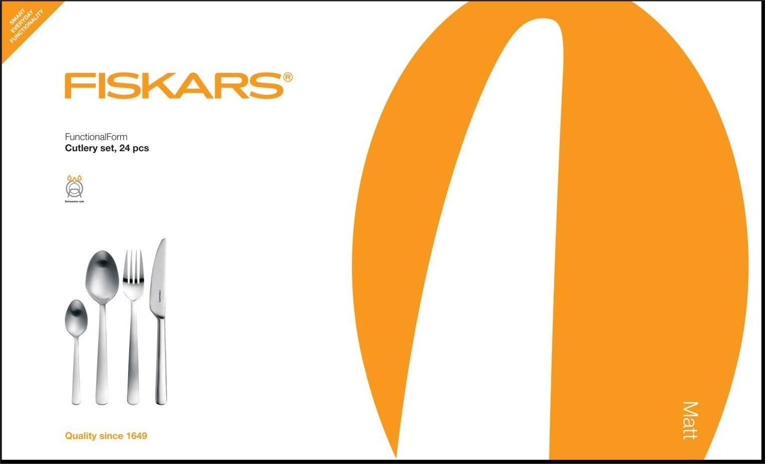 Souprava příborů 24 ks, mat 1002961 Fiskars