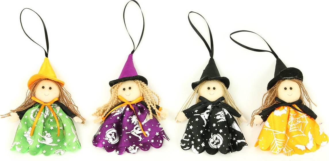 Čarodějnice, textilní dekorace, mix4 druhů, cena za 1 kus AC3947 Art