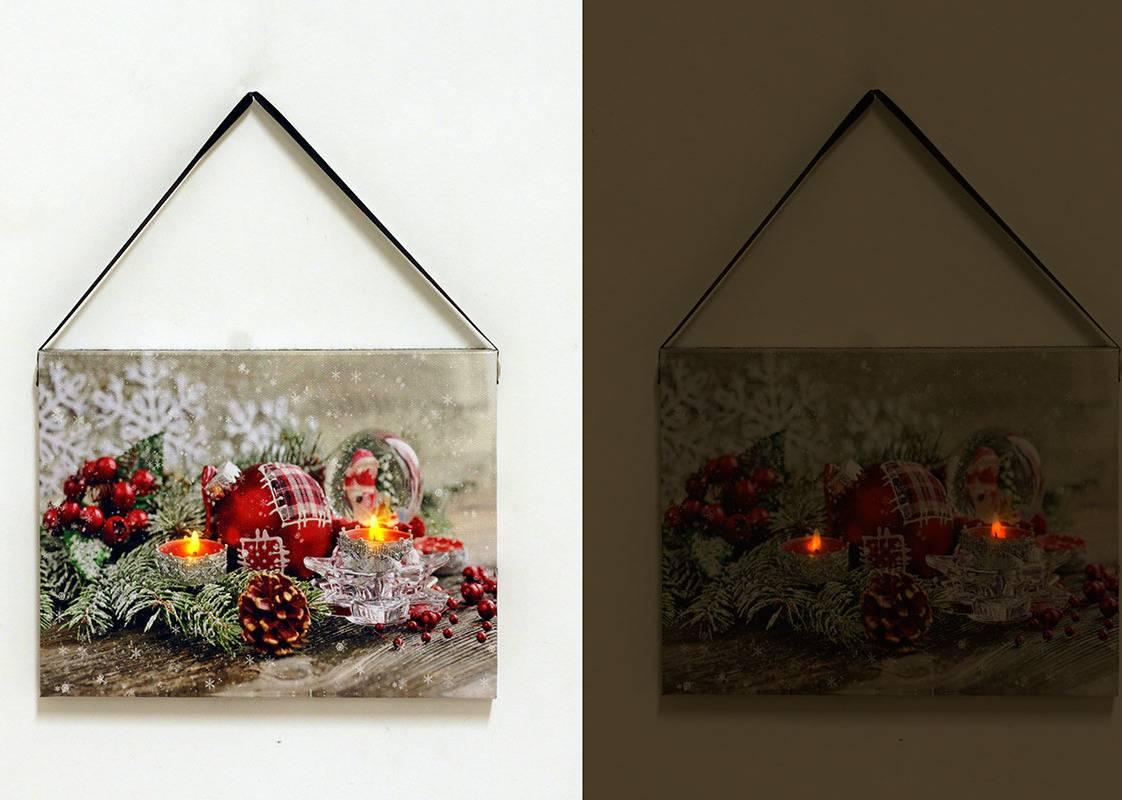 Nástěnný obraz, svíticí - LED. BD523 Art