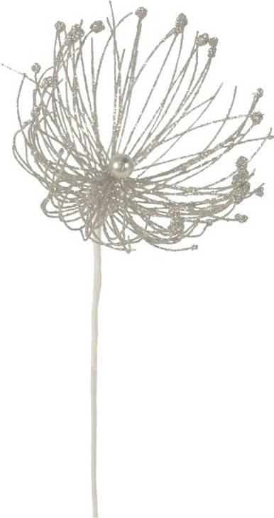 Vánoční plastová větev - barva bílá. DEG482985-WH Art