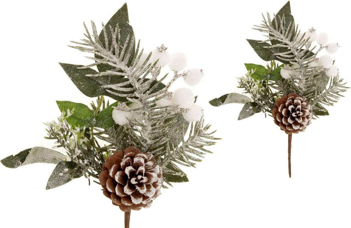 Větvička vánoční umělá dekorace PRZ2681 Art