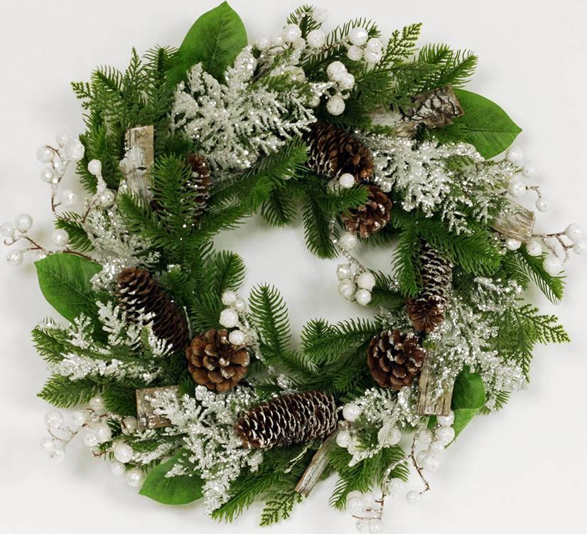 Věnec, umělá vánoční dekorace SF1071 Art