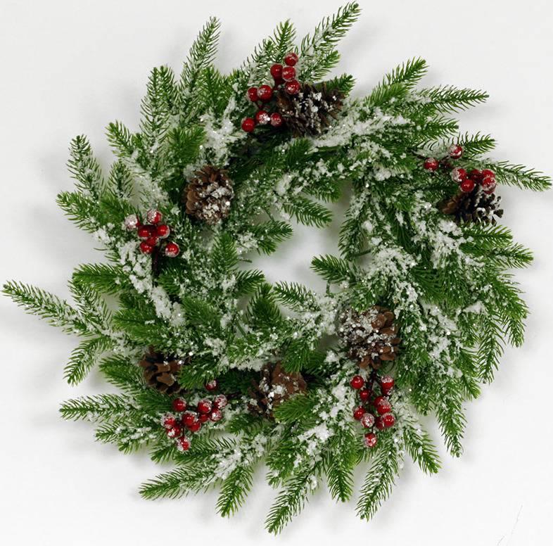Věnec, umělá vánoční dekorace SF1077 Art