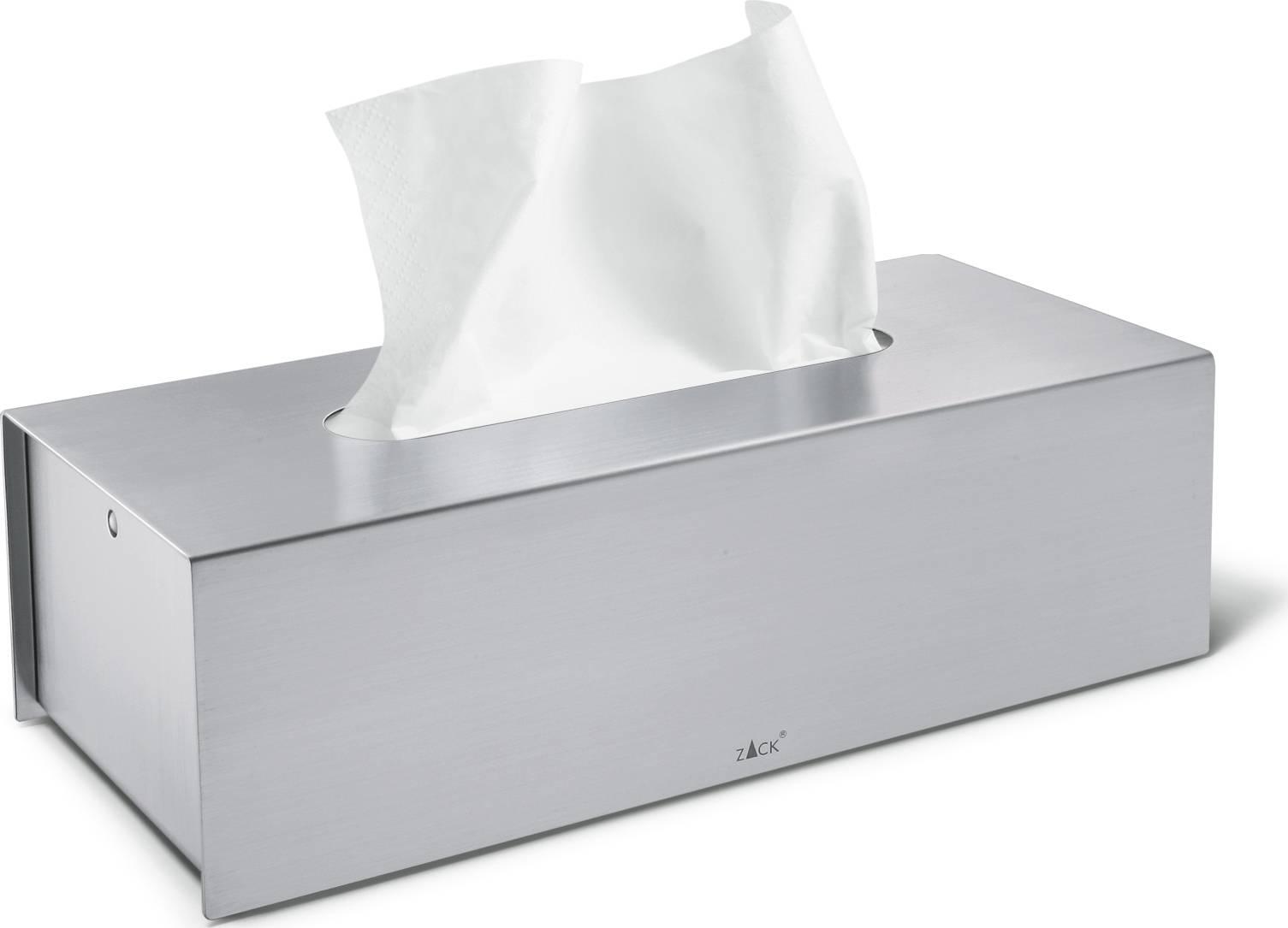 PURO box na papírové kapesníčky, 7,5 x 25 x 11,5 40231 Zack
