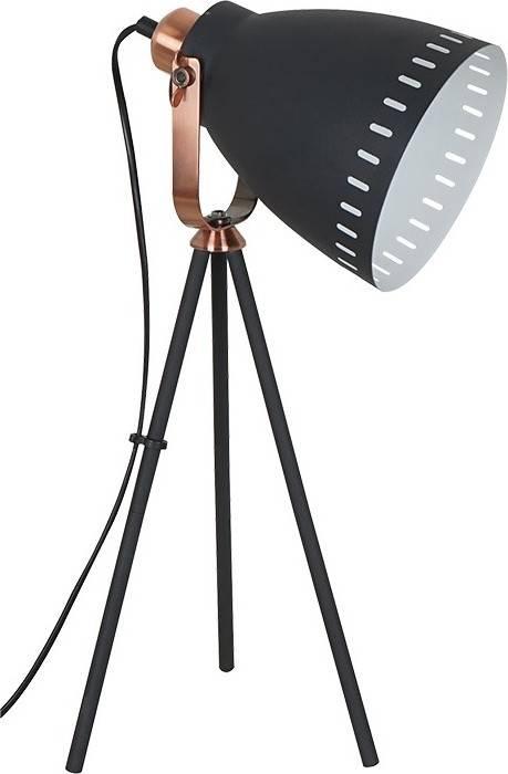 stolní lampa Torino, trojnožka, 52cm, E27, černá WA002-B Solight