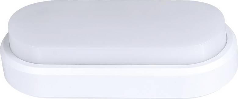 Fotografie LED venkovní osvětlení, přisazené, oválné, IP54,18W, 1350lm, 4000K, 23cm WO734 Solight