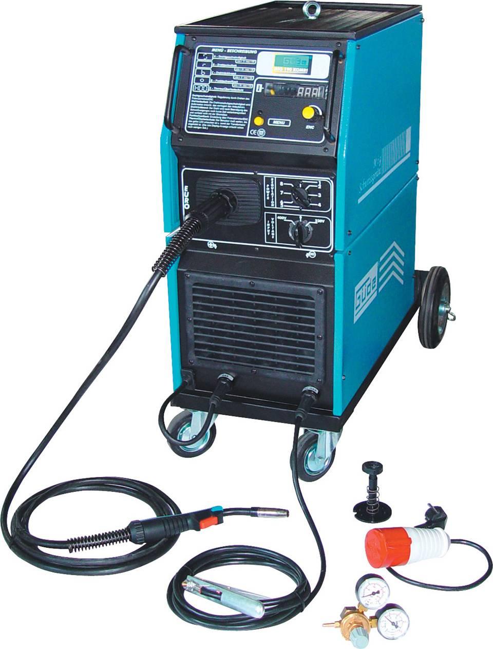 Svářečka MIG 190 Kombi/A pro svařování v ochranné atmosféře 20039 GÜDE