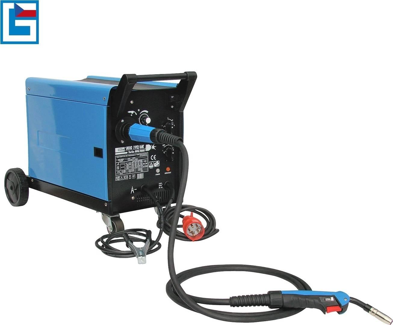 Svářečka MIG 192/6 K pro svařování v ochranné atmosféře 20076 GÜDE