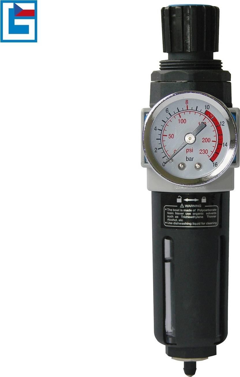 GÜDE ventil redukční s filtrem/odlučovačem vody 1/4