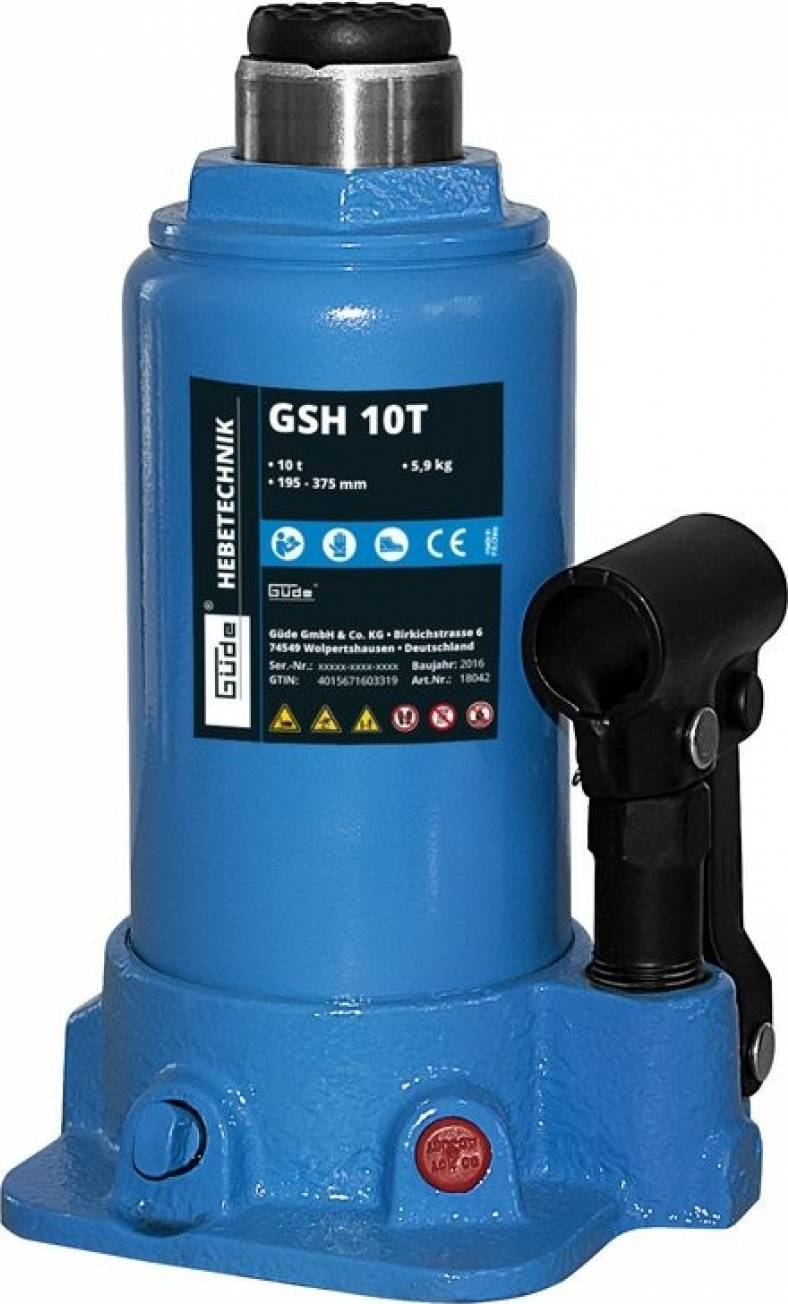 Hydraulický zvedák GSH 10T 18042 GÜDE