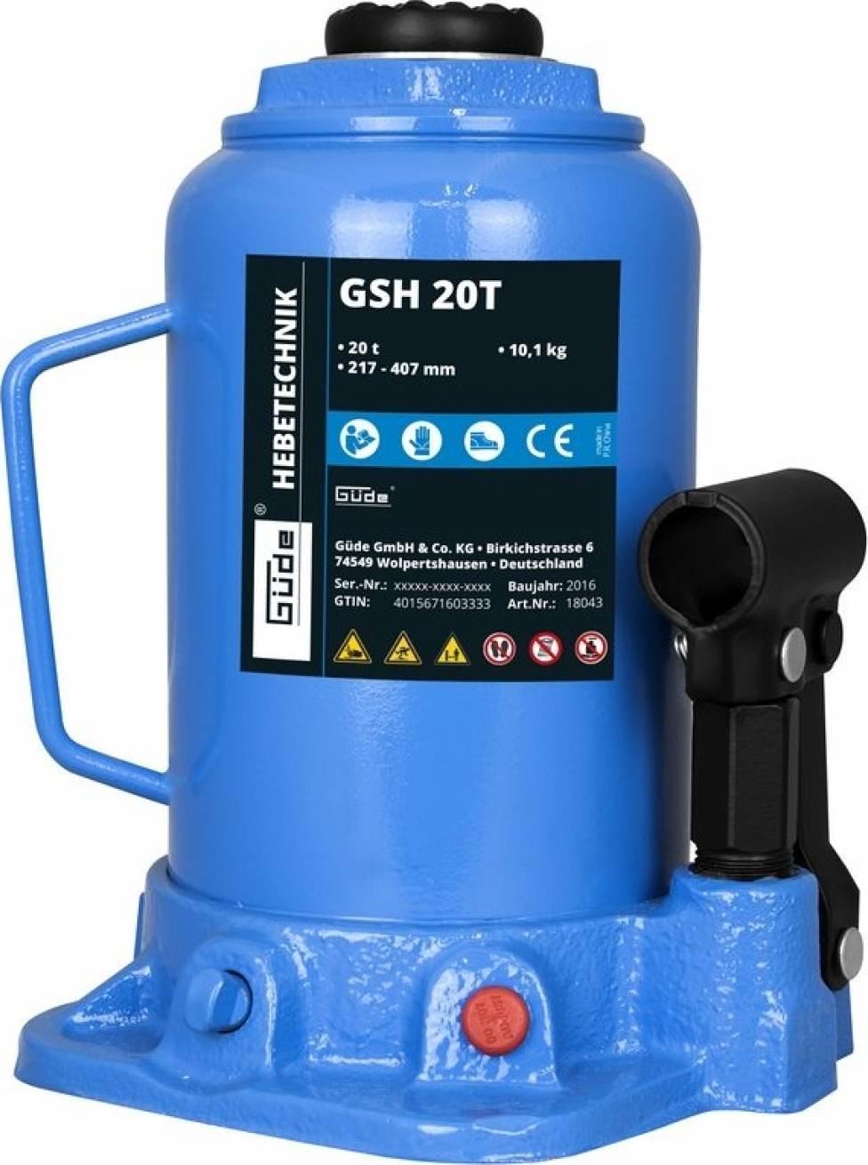 Hydraulický zvedák GSH 20T 18043 GÜDE