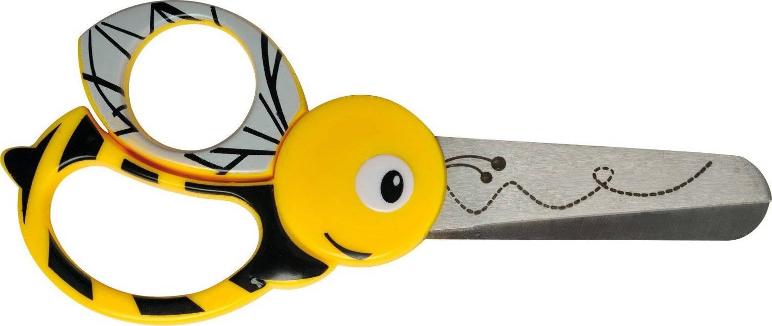 Nůžky dětské Animals 13 cm - Včely 1003747 Fiskars