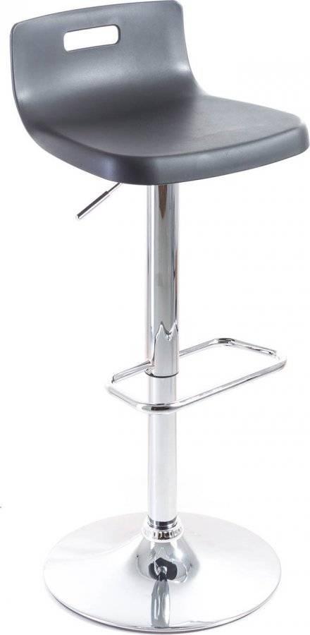 Barová židle Teasa plastová black 60023083 G21
