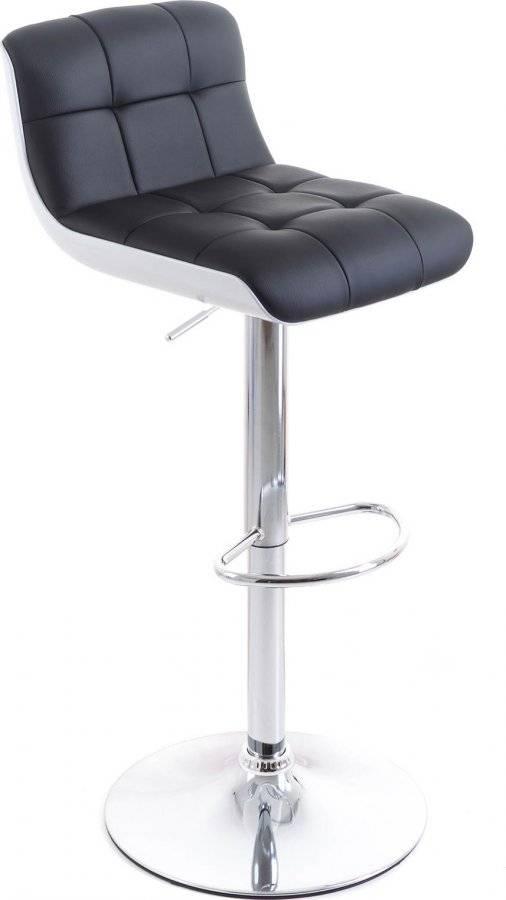 Barová židle Treama koženková black/white 60023084 G21