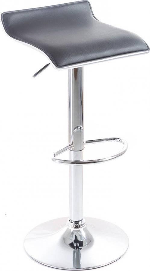 Barová židle Clora koženková black 60023089 G21