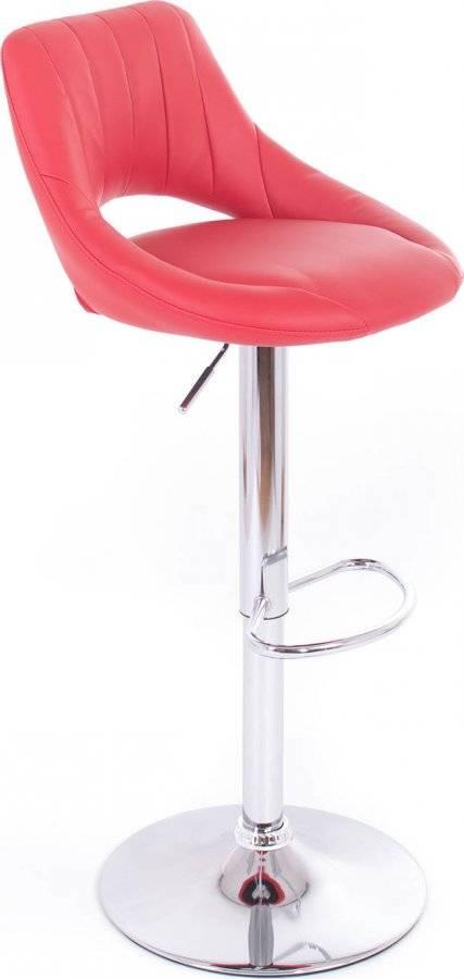 Barová židle Aletra koženková red 60023185 G21