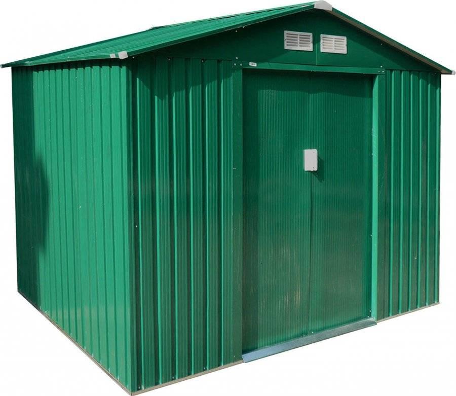 Zahradní domek GAH 429 - 251 x 171 cm, zelený 6390052 G21