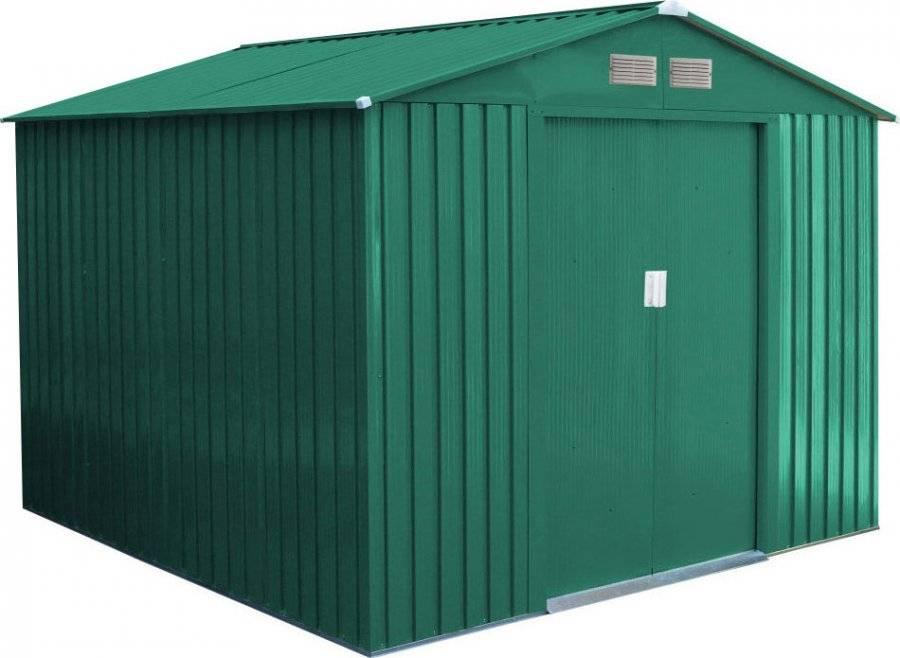 Zahradní domek GAH 580 - 251 x 231 cm, zelený 6390053 G21
