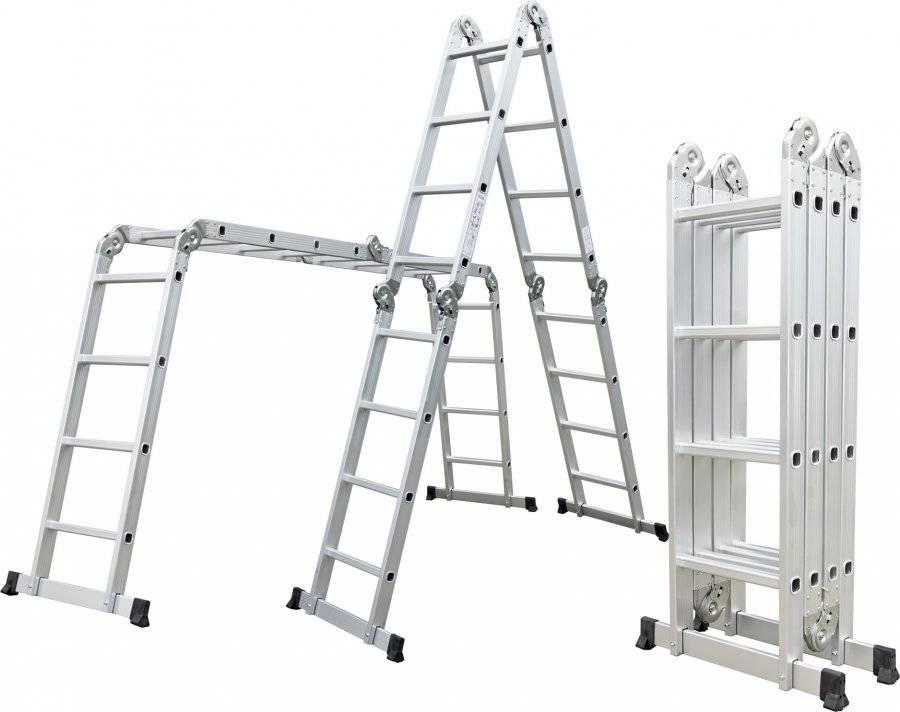 Hliníkové štafle GA-SZ-4x4-4,6M multifunkční 6390462 G21