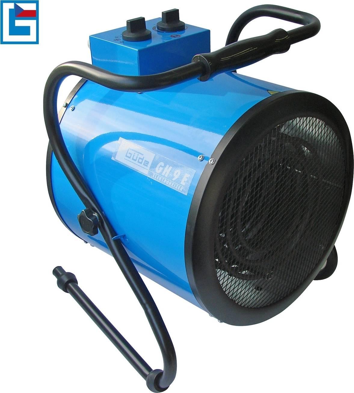 Elektrický přímotop GH 9 E 85104 GÜDE