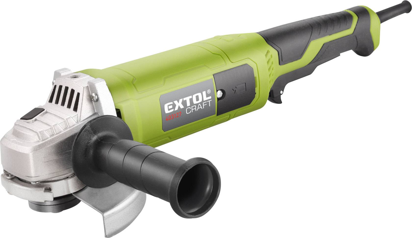 bruska úhlová s prodlouženou rukojetí, 125mm, 1200W 403127 EXTOL CRAFT