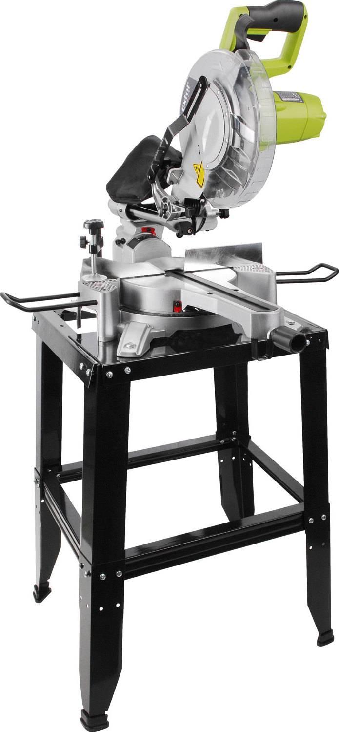 pila pokosová a kapovací s laserem a posuvným ramenem, 255mm, 1800W 405441 EXTOL CRAFT