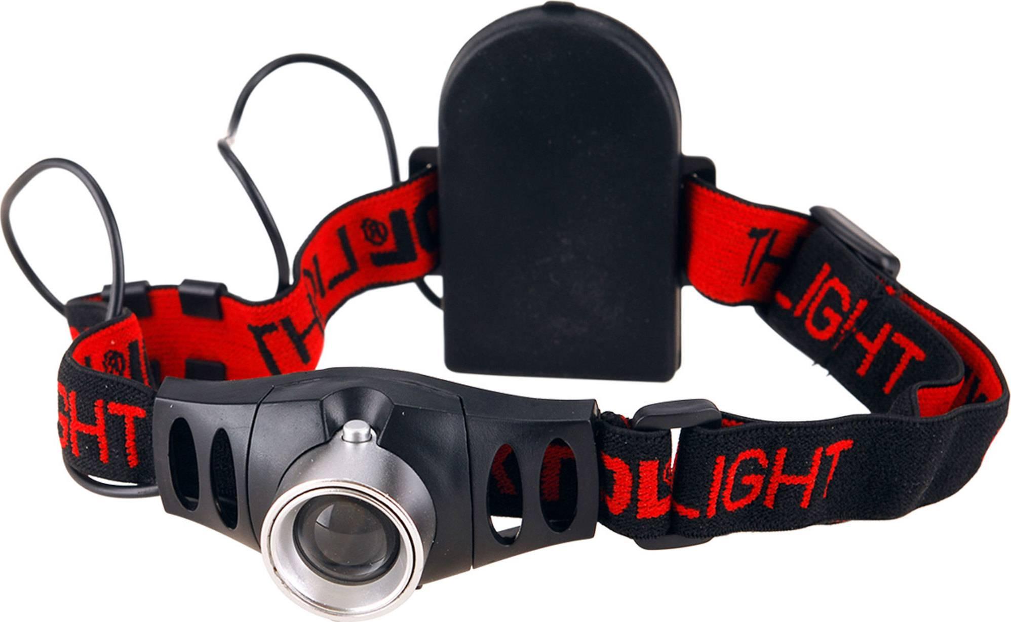 čelovka 120lm CREE s plynulou regulací, 3W CREE XPE, dosvit 100m, funkce ZOOM, hliník a ABS plast 43101 EXTOL LIGHT