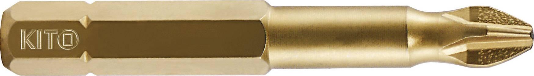 hrot, PH 2x50mm, S2/TiN 4821102 KITO