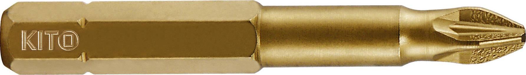 hrot, PZ 1x50mm, S2/TiN 4821201 KITO
