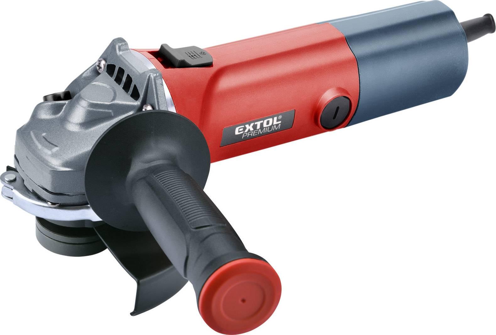 bruska úhlová s regulací rychlosti, 125mm, 850W 8892014 EXTOL PREMIUM