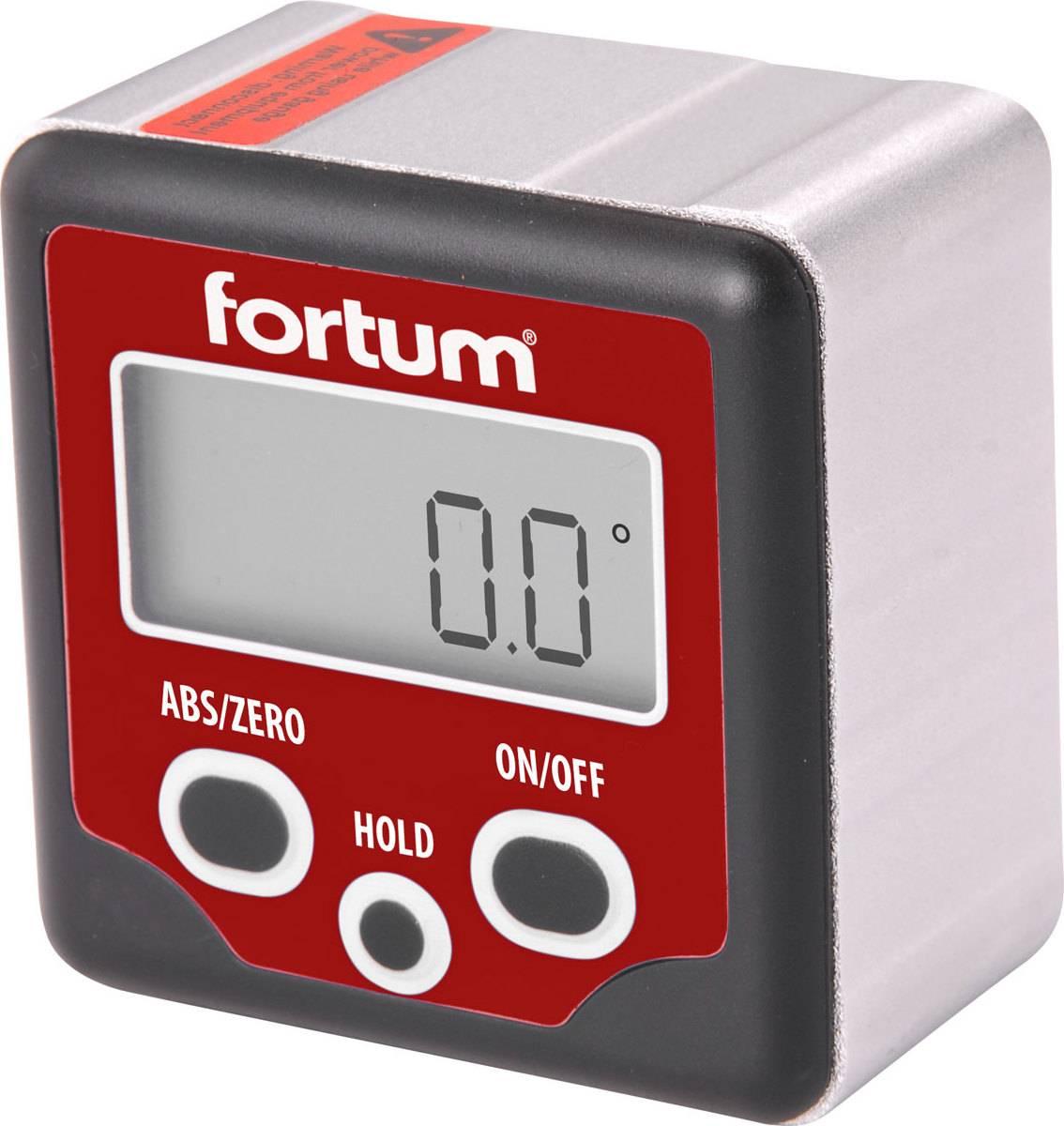 sklonoměr digitální, 0°-360° 4780200 FORTUM