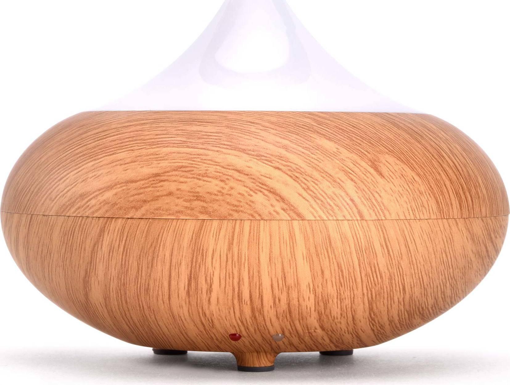 aroma difuzér Fuji, osvěžovač a zvlhčovač vzduchu, imitace světlého dřeva, 150ml 569603 Nature7