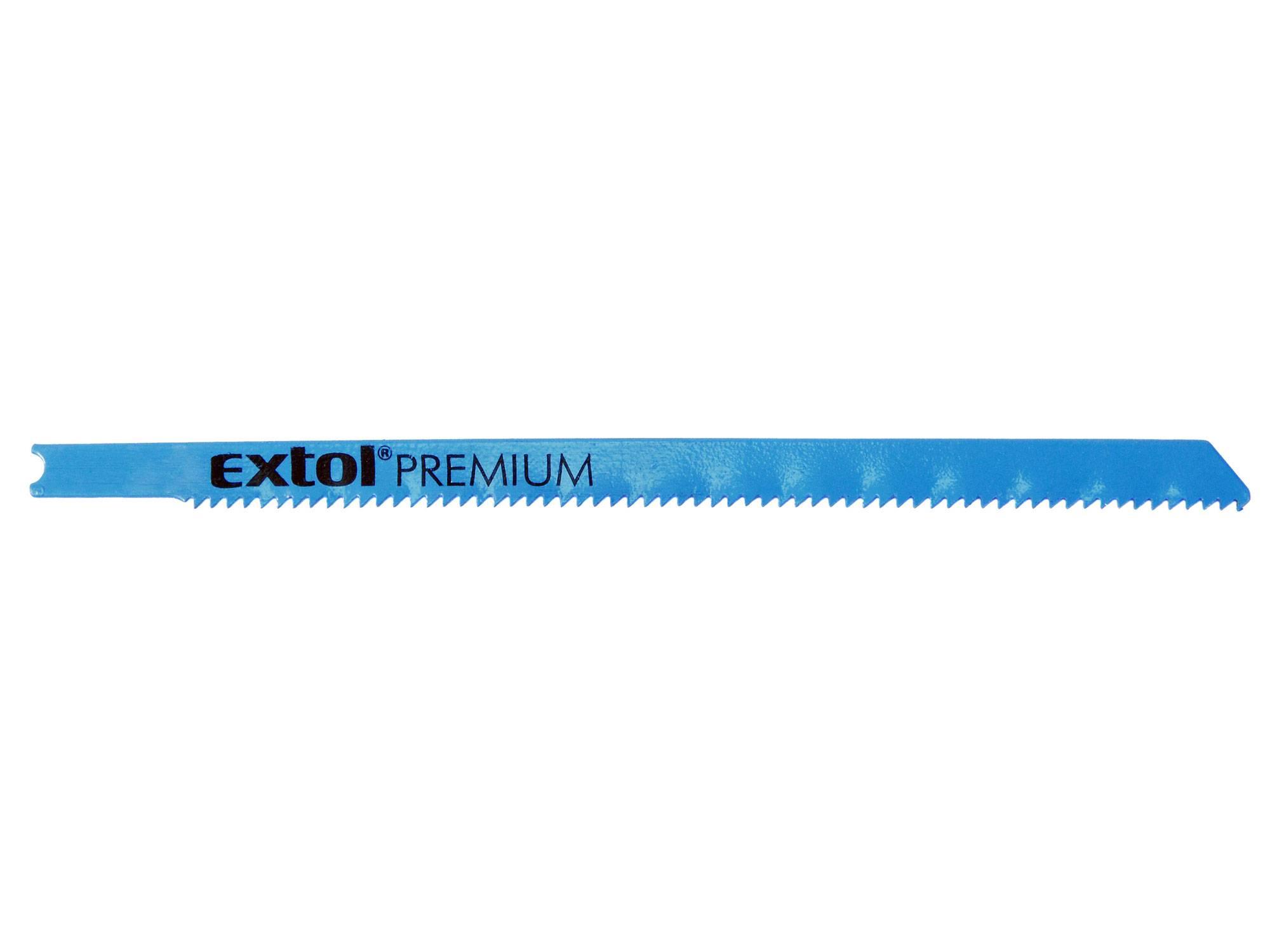 plátky do přímočaré pily 5ks, 106x1,8mm, Bi-metal 8805705 EXTOL PREMIUM