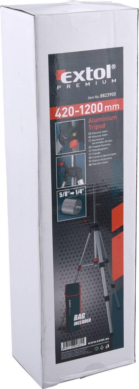 stativ výsuvný, 420-1200mm 8823900 EXTOL PREMIUM