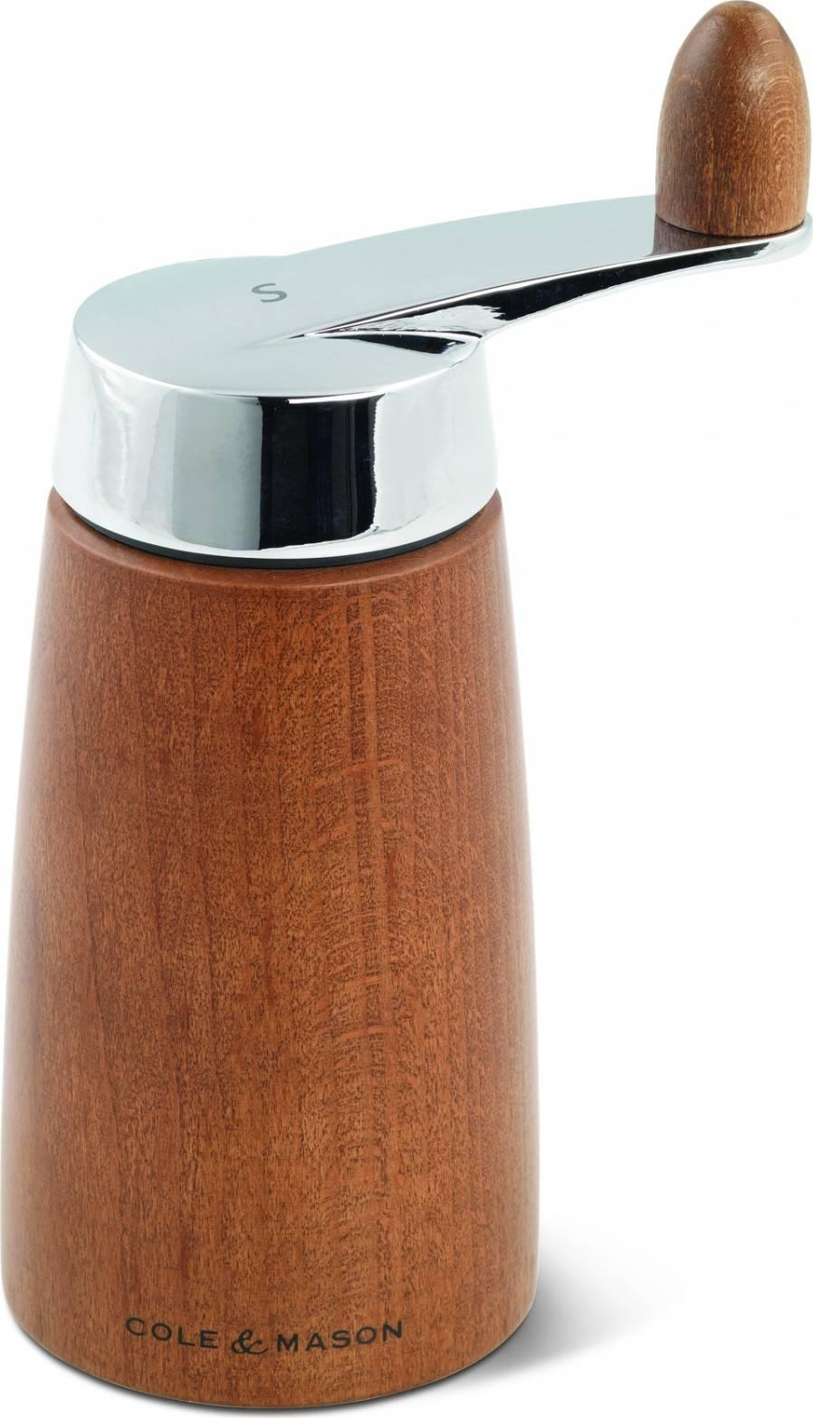Cole & Mason MORLEY CRANK ořechová barva, mlýnek na sůl, 165 mm H300722 DKB Household UK Limited