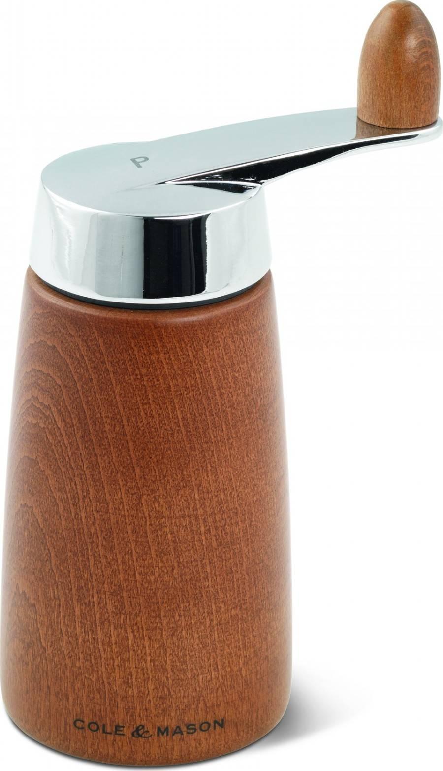 Cole & Mason MORLEY CRANK ořechová barva, mlýnek na pepř, 165 mm H300821 DKB Household UK Limited
