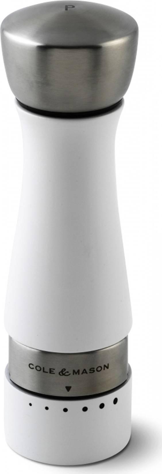 Cole & Mason OLDBURY bíle lakovaný, mlýnek na pepř, 190mm H301661G DKB Household UK Limited
