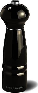 Cole & Mason WINDSOR BLACK, černý, mlýnek na sůl, 180mm H478551 DKB Household UK Limited