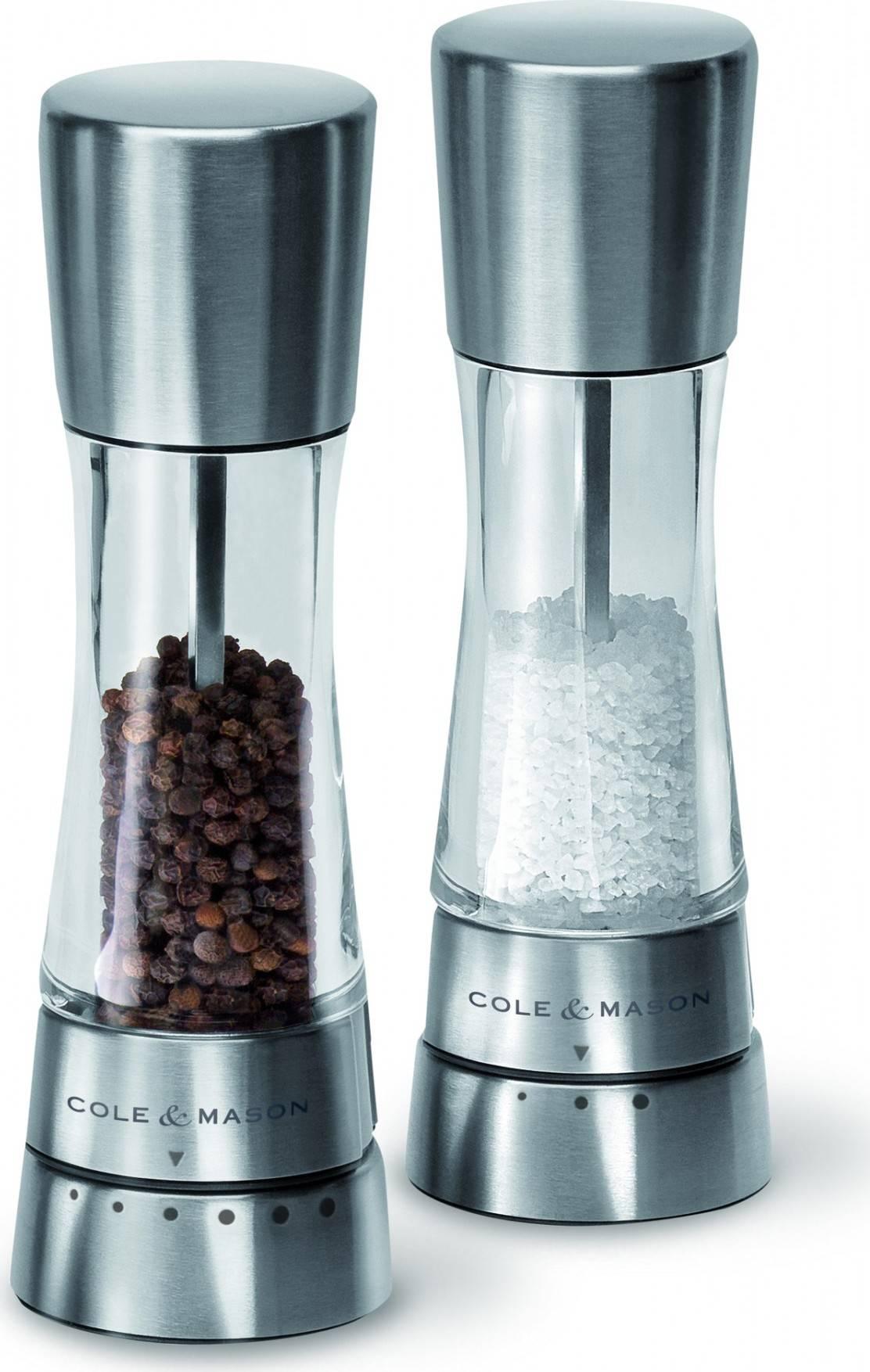 Cole and Mason DERWENT dárková sada, mlýnek na pepř a sůl, 190mm H59408G DKB Household UK Limited