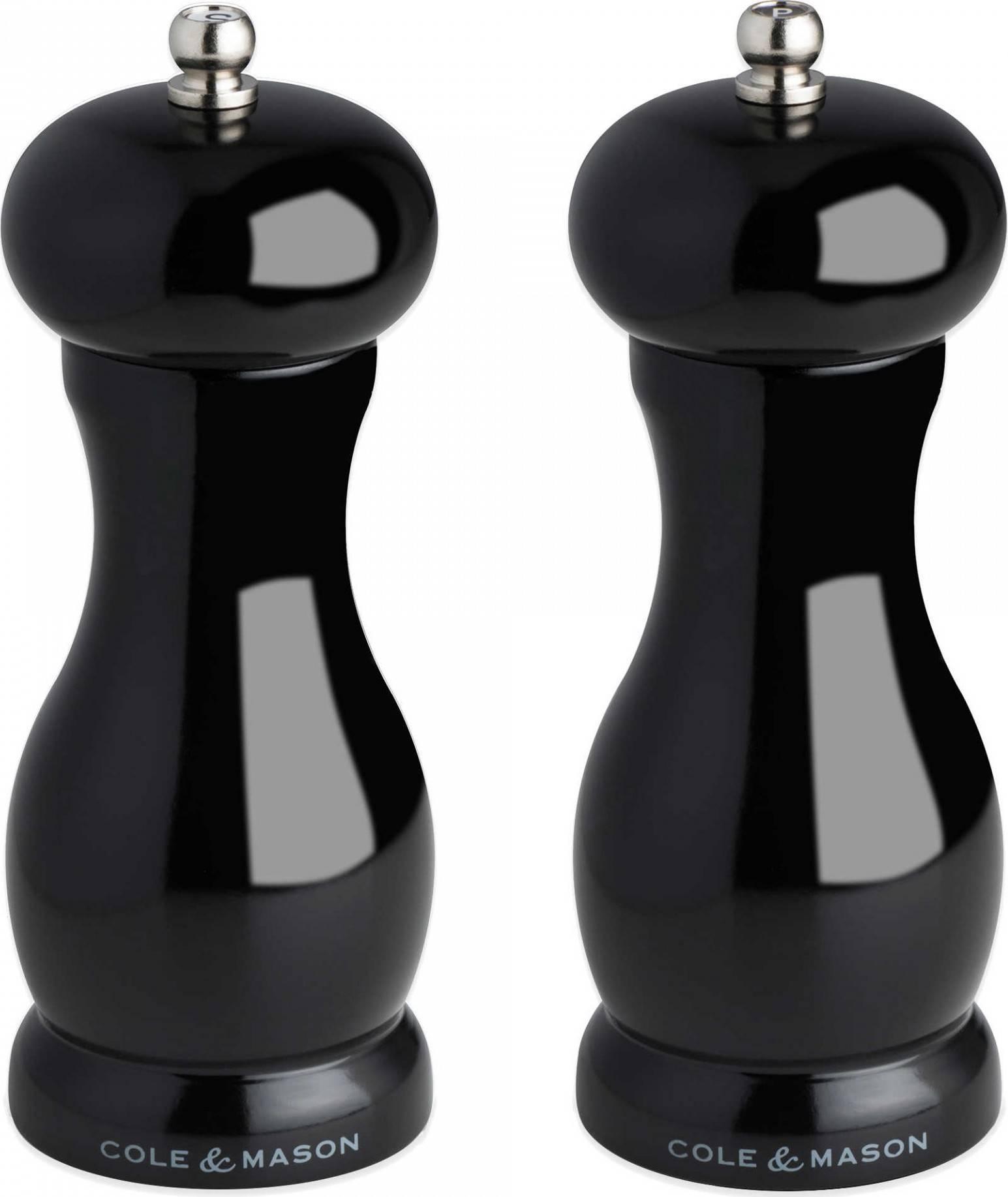 Cole & Mason BLACK OXFORD, sada černý mlýnek na pepř a sůl, 155 mm HT06880 DKB Household UK Limited