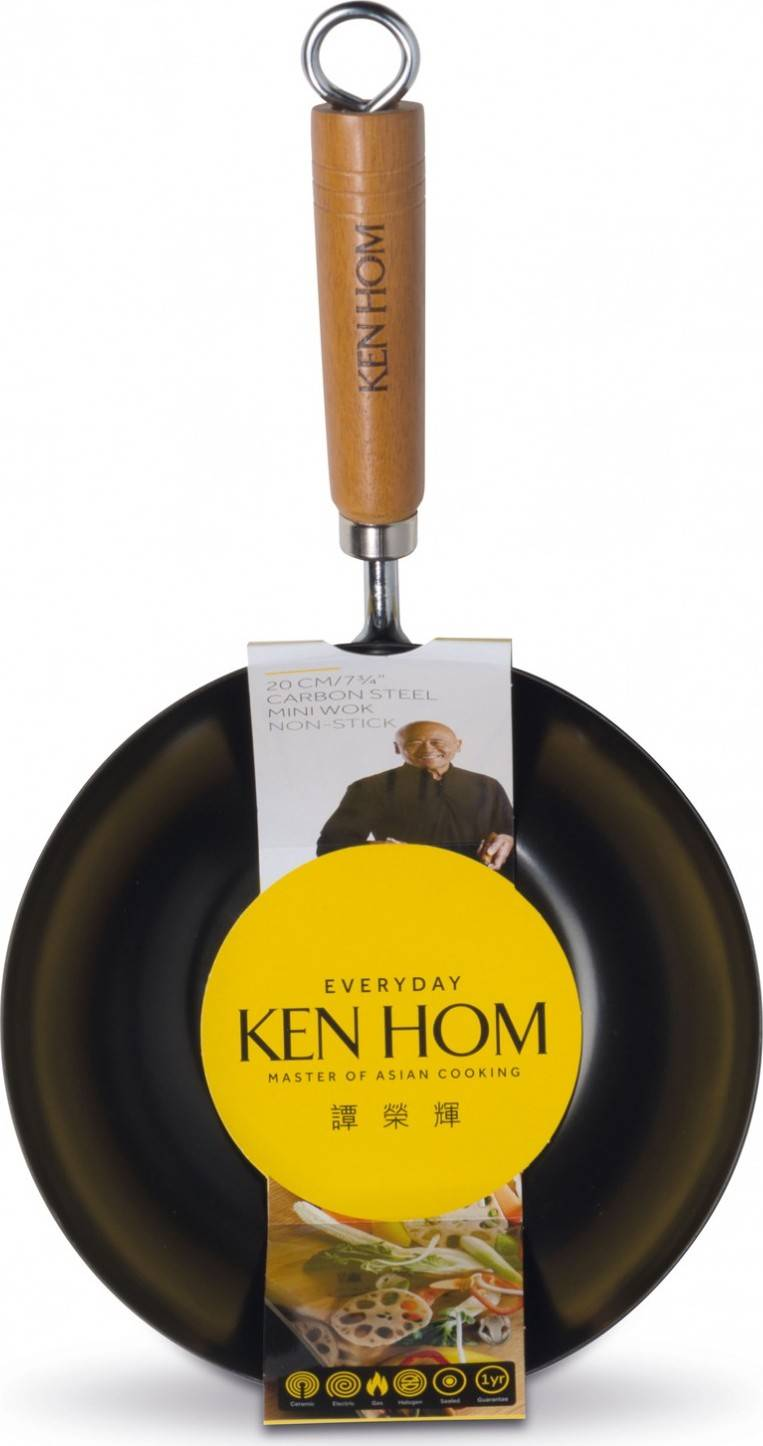 Ken Hom mini wok pánev, 20 cm, řada Everyday KH120001 DKB Household UK Limited
