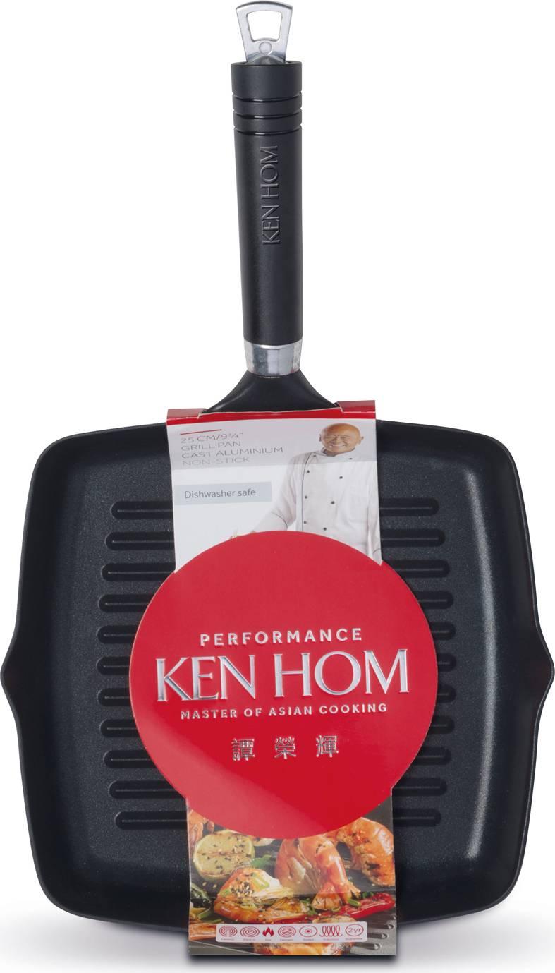 Ken Hom grilovací pánev 25 cm, řada Performance KH225004 DKB Household UK Limited