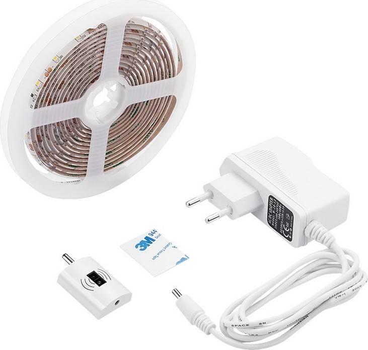 LED stmívatelný pásek s bezdotykovým ovládáním, 3m, 180 LED, 4000K, IP65, 230V WM505 Solight