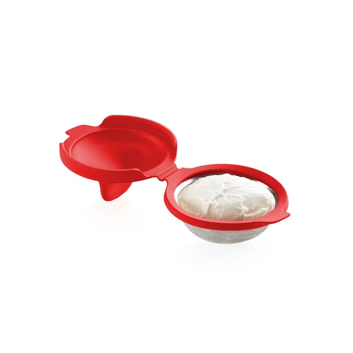 Forma na vaření vajec červená - Lékué