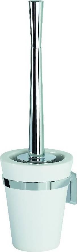 WC štětka s držákem MAX-LIGHT porcelán/chrom 1011896 SPIRELLA