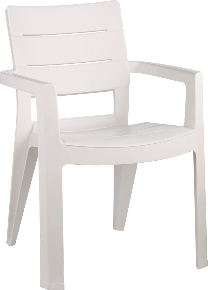 Zahradní židle IBIZA white 206970 ALLIBERT